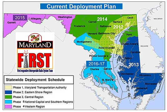 Statewide Deployment Schedule for Maryland FIRST